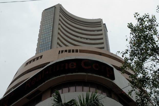 A file photo of the Bombay Stock Exchange. The prospect of rate cuts, along with continued fiscal reforms from the government, have sparked solid gains in Indian shares this month. Photo: Mint