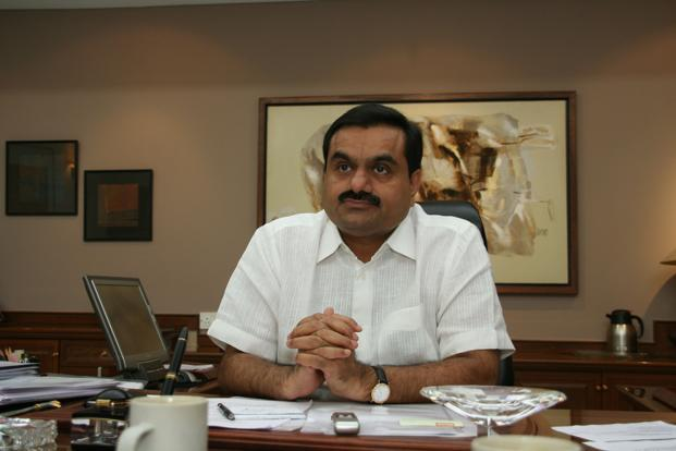 Adani Group chairman Gautam Adani. Adani Ports reported net profit rose 13% to Rs361 crore in the quarter ended 31 December from Rs321 crore in the year earlier. Revenue rose 50% to Rs1,390 crore from Rs927 crore.