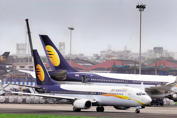 The protests come at a time when Jet Airways is trying to raise money by selling a 24% stake to Etihad Airways for around $300 million. Photo: Abhijit Bhatlekar/Mint