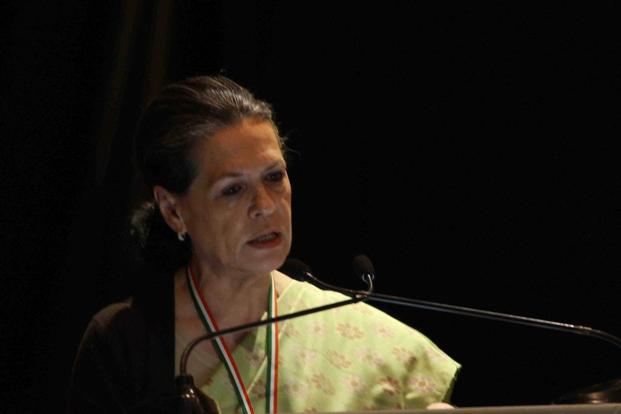 National Advisory Council (NAC) chairperson Sonia Gandhi. Photo: PTI