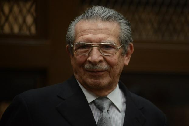"Guatemala former dictator Rios Montt is known for his ""scorched earth"" campaign against people the government claimed were leftist rebels, but who were often indigenous Maya community members not involved in the conflict. Photo: AFP"