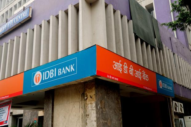 A file photo of a IDBI Bank branch. Photo: Pradeep Gaur/Mint