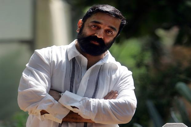 Actor Kamal Haasan. Photo: Hindustan Times