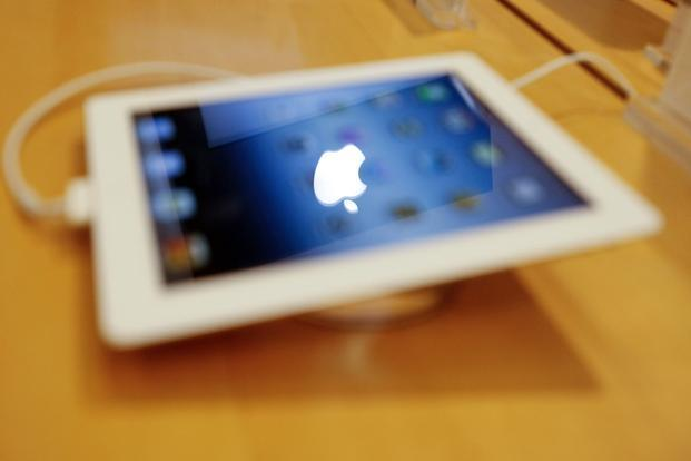 A file photo of an Apple iPad at an electronics store in Mumbai. Photo: Reuters