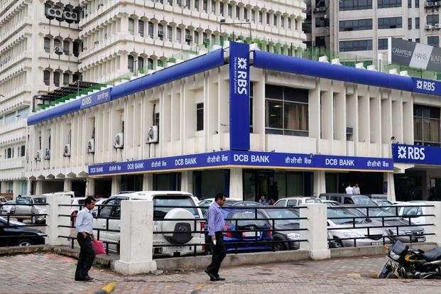 The RBS branch in New Delhi. Photo: Pradeep Gaur/Mint
