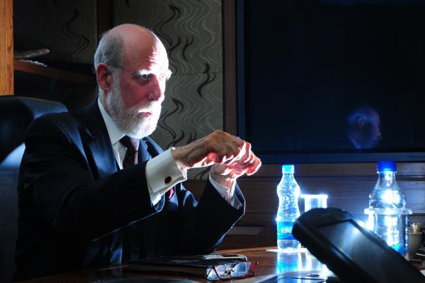 Vinton Gray Cerf, who holds the title of chief Internet evangelist at Google Inc., described proposals to levy an Internet tax as 'bizarre' and said rising interference by governments in managing the Internet worries him the most. Photo: Ramesh Pathania/Mint