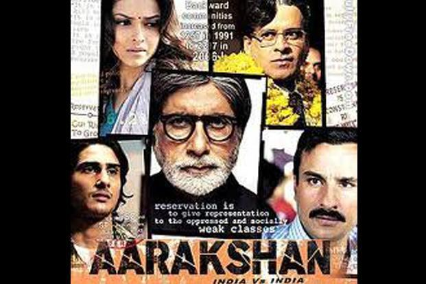 <i>Aarakshan</i>, the 2011 Prakash Jha film based on the theme of caste-based reservations faced protests in Uttar Pradesh and Punjab against its screening of the movie.