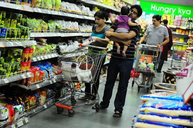Consumer spending reached an eight-year low in the September quarter of fiscal 2013. Photo: Pradeep Gaur/Mint