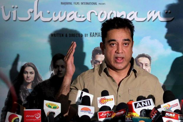 Kamal Haasan&rsquo;s <i>Vishwaroopam</i> ran into a political storm from fringe groups objecting to its portrayal of Islamists. Sadly, the political authority backed the fringe and the actor has been forced to edit parts of it. Photo: Sai Sen