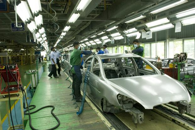 Hyundai Motor India Ltd's manufacturing plant in Sriperumbudur, Tamil Nadu. Photo: Mint