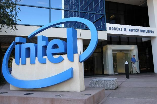 A file photo of Intel headquarters in Santa Clara, California. Photo: Getty Images/AFP