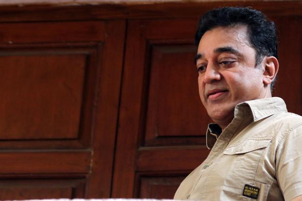 Kamal Haasan's spy thriller has run into trouble in Tamil Nadu where the High Court on Wednesday stayed its screening. Photo: Sai Sen