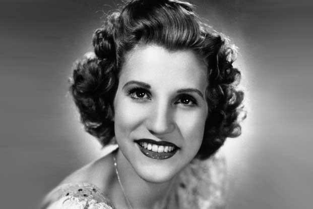 A 1942 file photo of singer Patty Andrews. Photo:AP