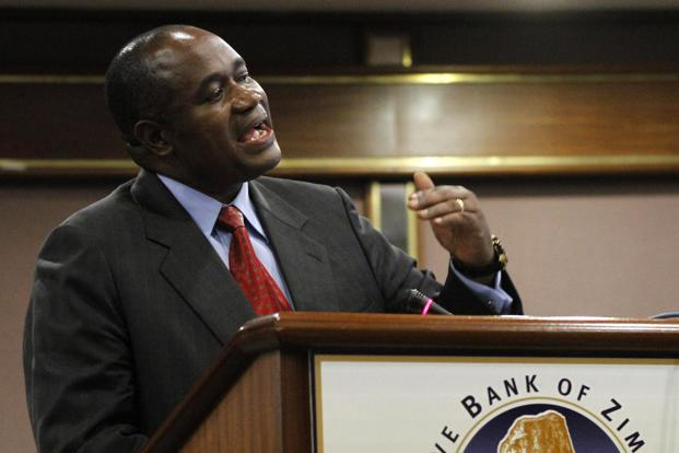 Gideon Gono said Zimbabwe's economy remains fragile with low export earnings, lack of credit lines or foreign direct investment resulting in the liquidity crunch. Photo: Reuters