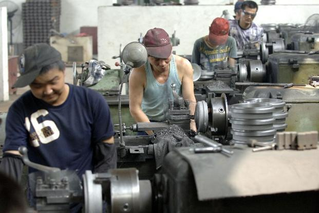 China's official PMI follows on from the preliminary findings of a private sector survey sponsored by HSBC a week ago, which rose to a two-year high of 51.9 in January. Photo: AFP