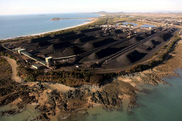A file photo of coal at the port of Hay Point, located around 450km south-east of the city of Townsville in Queensland. In releasing its response to Unesco, environment minister Tony Burke said the government was 'absolutely committed' to protecting the reef. Photo: Reuters