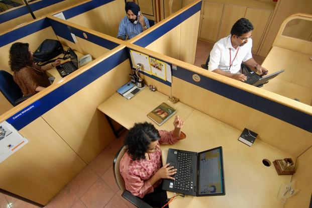 The US and Europe account for about 80% of the market for India's top information technology (IT) firms. Photo: Hemant Mishra/Mint