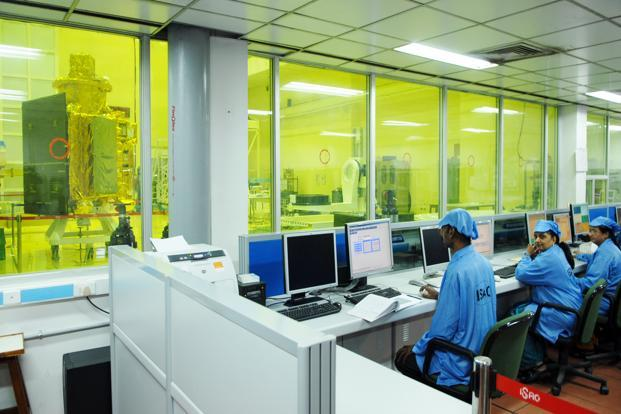 A file photo of Isro's satellite centre in Bangalore. Photo: Hemant Mishra/Mint