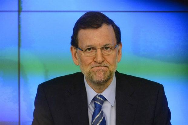 Leading centre-left newspaper El Pais on Thursday published account ledgers purportedly showing that donations were channelled into secret payments to Prime Minister Mariano Rajoy and other top party officials. Photo: AFP