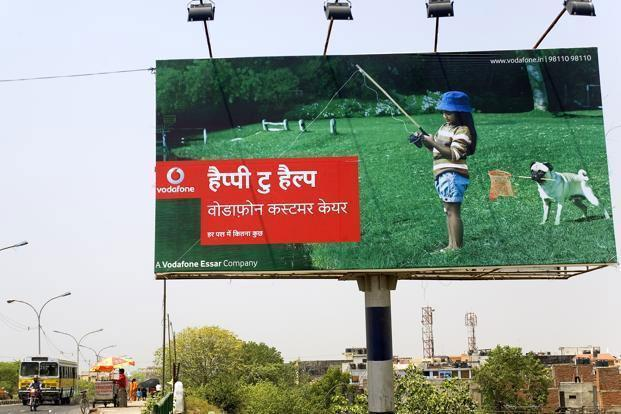 Vodafone won spectrum in 14 circles in the November auction for `1,127.94 crore. Photo: Mint