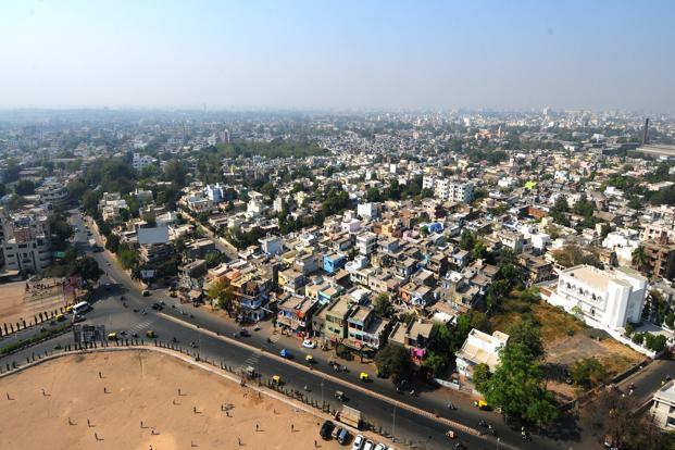 A compact city, or city of short distances, is an urban planning concept that promotes relatively high residential density. Photo: Ramesh Pathania/ Mint