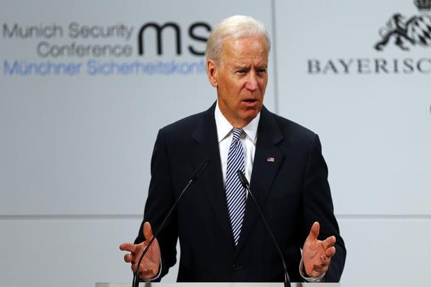 US vice-president Joe Biden. Photo: Reuters