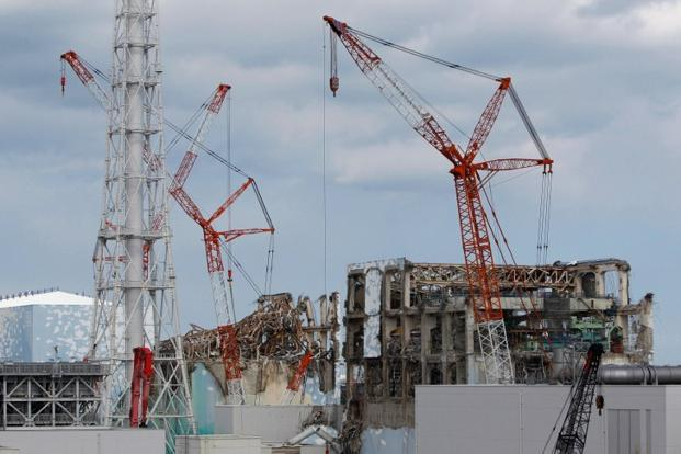 A file photo of Tepco's tsunami-crippled reactor buildings at the Fukushima Daiichi nuclear power plant in Okuma, Fukushima prefecture. Since the Fukushima disaster the country has been fearing another quake catastrophe. Photo: Issei Kato/AFP.