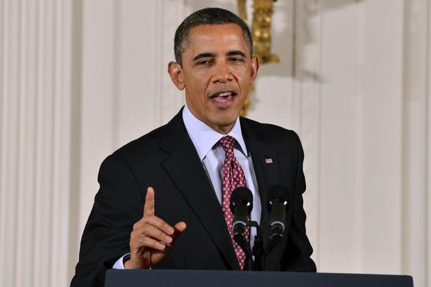 A file photo of President Barack Obama. Photo: AFP