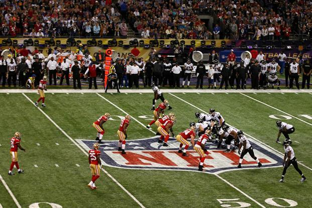 The Super Bowl is annually the largest showcase for US consumers with more than 100 million viewers. Photo: Dilip Vishwanat/ AFP