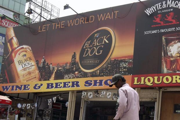 United Spirits saw strong demand for its higher-priced brands with volumes of McDowell's No.1 whisky rising 23% and those of Black Dog jumping 29%. Photo: Bloomberg