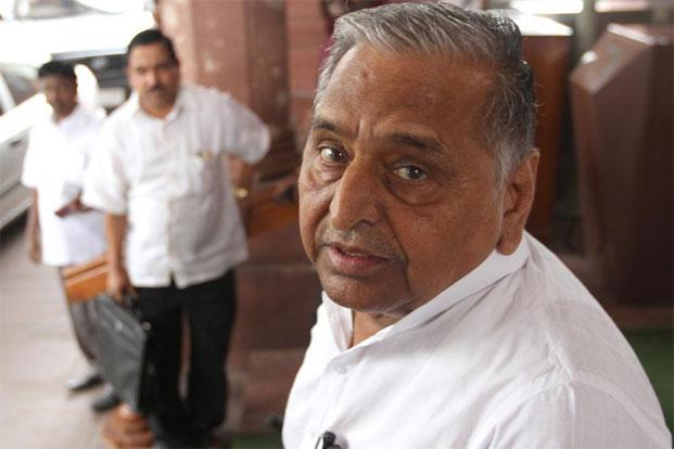 Samajwadi Party chief Mulayam Singh Yadav. Photo: Hindustan Times