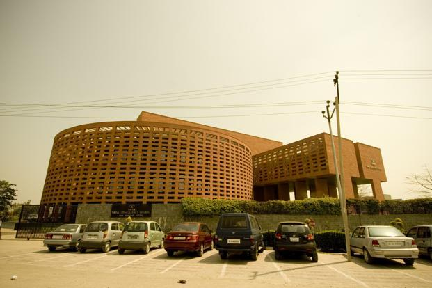 TCS office on Noida. The incremental revenue benchmark serves to highlight the changes in an IT industry that's trying to shed its dependence on traditional low-cost businesses to build their strengths in more specialized, and lucrative, tasks. Photo: Mint