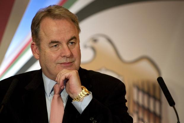 A file photo of Etihad Airways CEO James Hogan. Photo: AFP