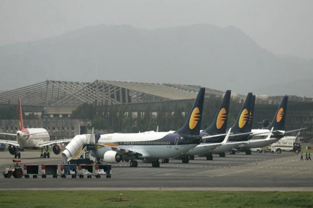 Jet Airways swung to a profit in the third quarter, ahead of a likely deal that will see Etihad acquiring a stake in the airline. Photo: Hindustan Times