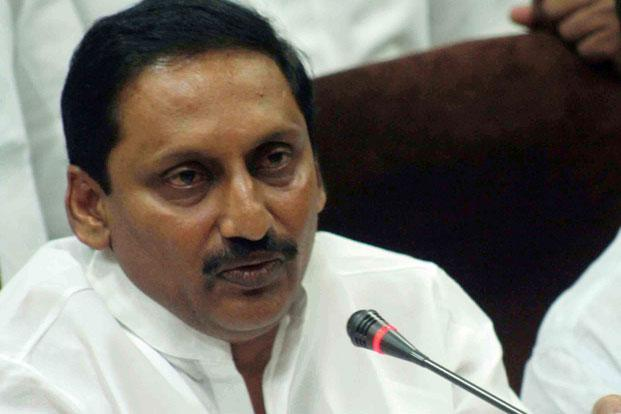 A file photo of Andhra Pradesh chief minister N. Kiran Kumar Reddy. Photo: Mint