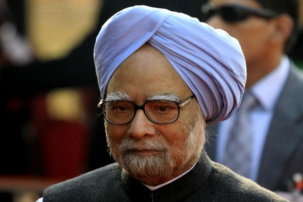 A file photo of Prime Minister Manmohan Singh. Singh has said the environment and development ought not to be a zero-sum game. However, for most part, this remains merely aspirational. Photo: HT