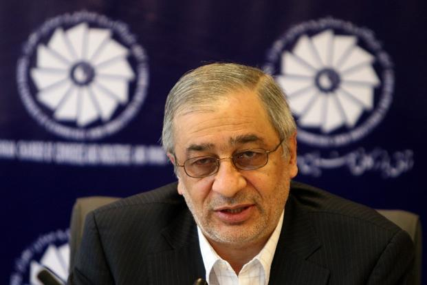 A file photo of former Iranian central bank governor Tahmasb Mazaheri in Tehran. Photo: AFP