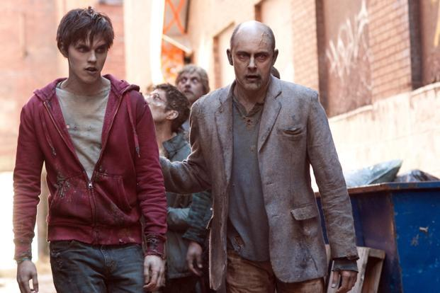 A still from the film 'Warm Bodies'. Photo: AP