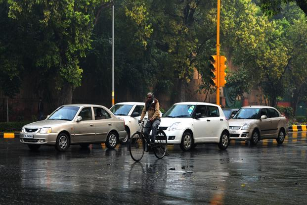 Rains will intensify in Delhi during the next 24 to 48 hours. Photo: Ramesh Pathania/Mint