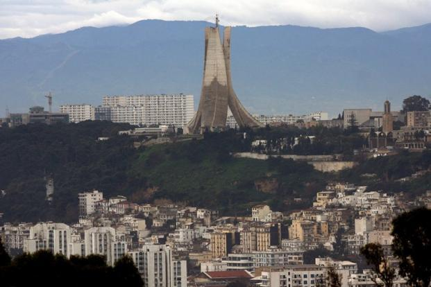 <b>RANK 5-</b> Algiers, Algeria: The country&rsquo;s capital and its largest city is situated on a bay of the Mediterranean Sea. It is famous for its white high-rise buildings. In picture: A view of the Maqam El-Shahid (martyrs memorial). AFP