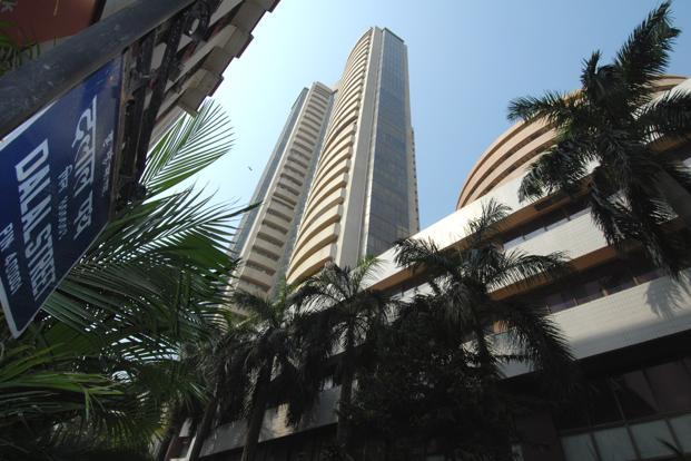 A file photo of the Bombay Stock Exchange. Renewed worries about the euro zone hit global markets, spurring continued profit-taking in recent outperformers such as ITC and ICICI Bank. Photo: Hemant Mishra/Mint