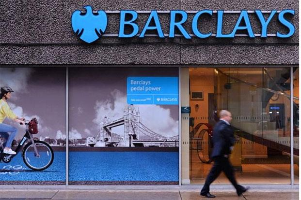 Barclays was fined $450 million last June for rigging Libor interest rates. Photo: AFP