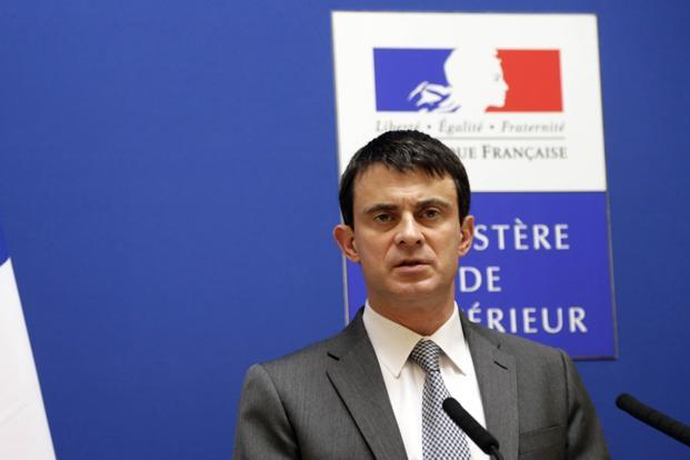 France interior minister Manuel Valls said the arrests had come after a long investigation into al Qaeda recruitment rings led by Anti-terrorism judge Marc Trevidic. Photo: Jacques Demarthon/AFP.