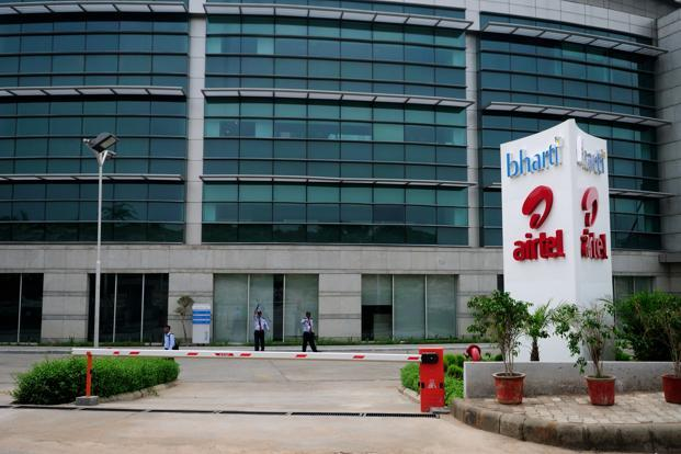 A file photo of Bharti Airtel office in Gurgaon. Photo: Pradeep Gaur/Mint