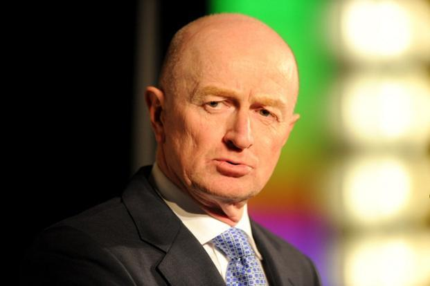 Reserve Bank of Australia governor Glenn Stevens kept rates at their record low of 3%, a level last seen in the global financial crisis, offering an upbeat assessment of global and domestic prospects. Photo: AFP