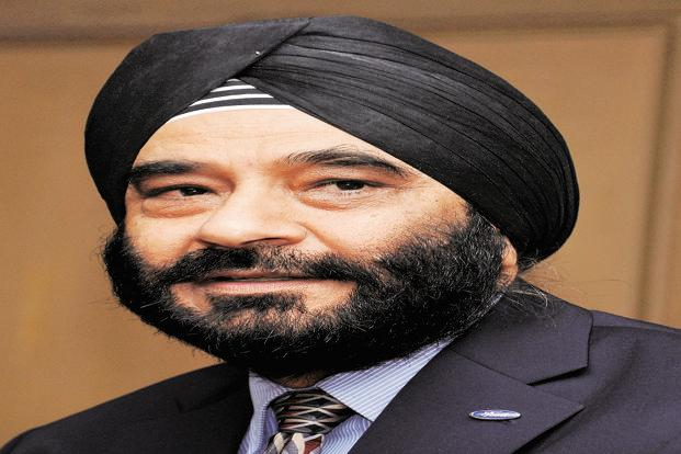 Joginder Singh, president and MD, Ford India. Photo: The Hindu