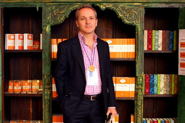 Andrew Phillips, CEO and president of Penguin Group (India), said the country's growing interest in reading and writing prompted the publisher to choose India as its launch market. Photo: HIndustan Times