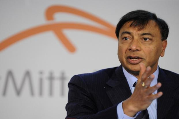 A file photo of ArcelorMittal's CEO Lakshmi Mittal.Photo: AFP