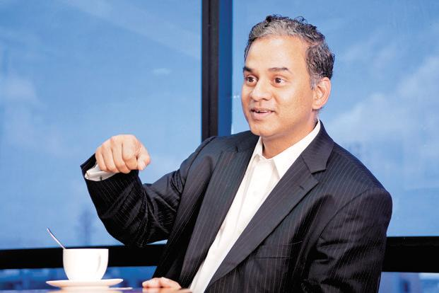 NV Tyagarajan, president and chief executive, Genpact. Photo: Aniruddha Chowdhury/Mint