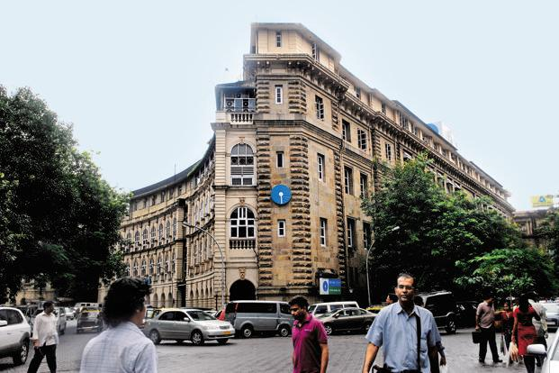 A file photo of SBI's headquarters in Mumbai. India's largest lender has added about $15 million of fresh bad loans to its overseas loan book in the last six months. Photo: Hemant Mishra/Mint